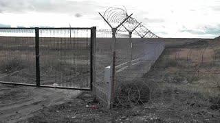 Russia completes wall on Crimea-Ukraine border