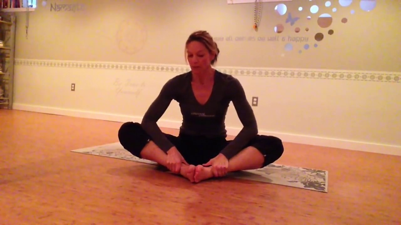inflexible person. basic yoga for inflexible warriors person
