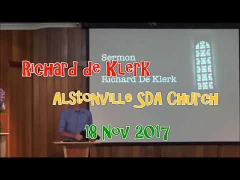 Richard de Klerk  The Daily Blessed Hope