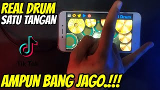 Download lagu AMPUN BANG JAGO.!! - REAL DRUM SATU TANGAN COVER