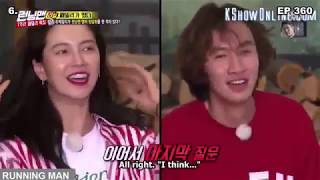 Lee Kwang Soo  -  Song Ji Hyo trong Running Man