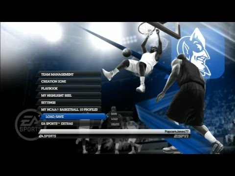 Part 1/5:  How To Transfer NCAA Basketball 10 Custom Rosters To PS3