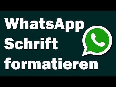 WhatsApp Text formatieren fett, kursiv oder durchgestrichen - So geht es