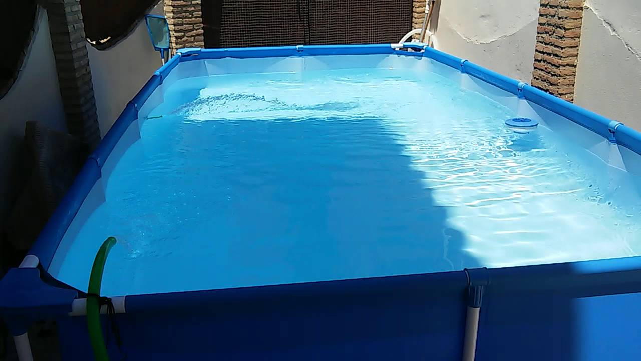 Como mantener limpia una piscina de plastico youtube for Piscinas montables