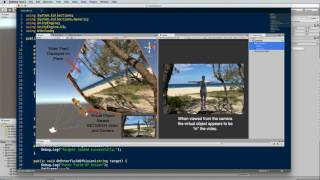 Mobile Augmented Reality with Wikitude SLAM Unity Plugin Part 1