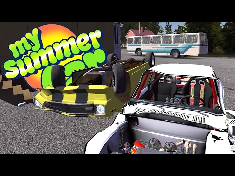 NEW UPDATE! New Bus, Fighting The Guy in the Yellow Car - My Summer Car Gameplay Highlights Ep 41