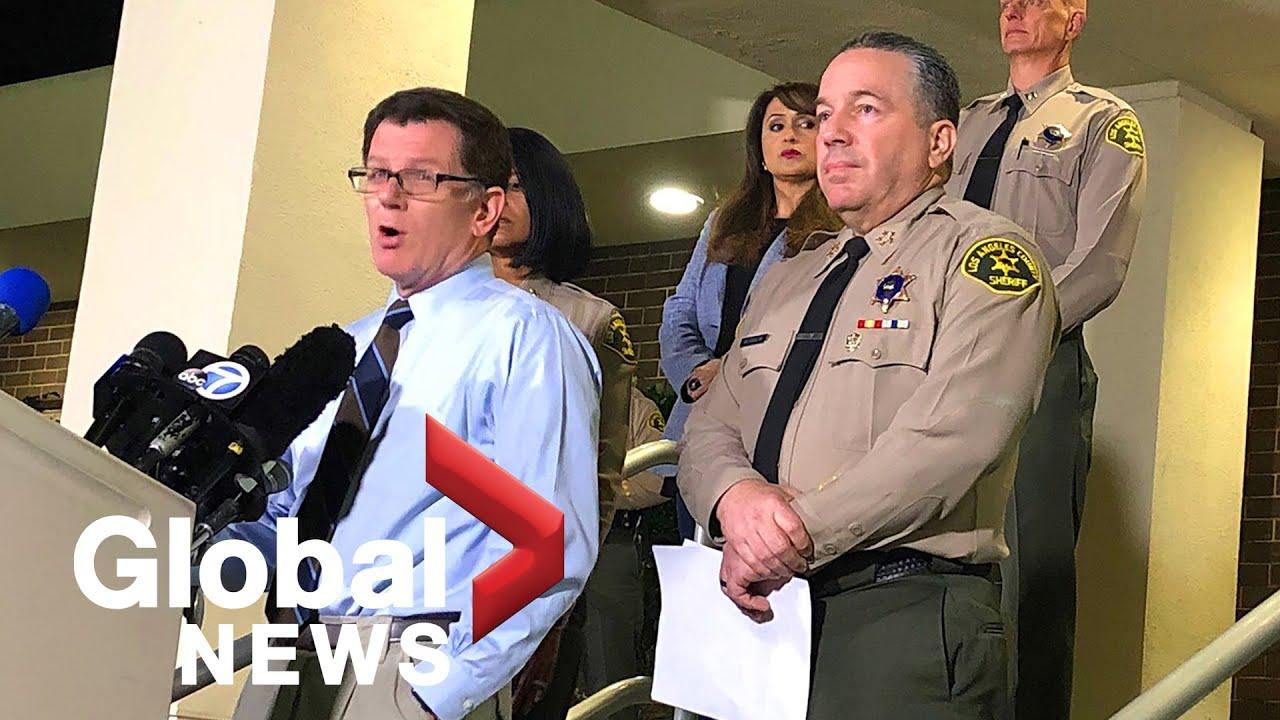 Sheriff's department investigating whether Kobe Bryant crash scene ...