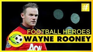 Wayne Rooney | Football Heroes | Full Documentary
