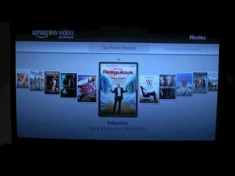 Amazon Video on Demand with Roku