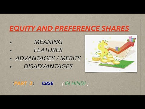 BST CLASS 11 CH 7 (what is equity and preference shares)