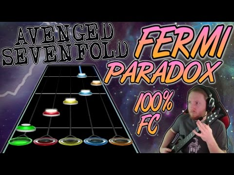 Avenged Sevenfold - Fermi Paradox 100% FC (Guitar Hero Custom -- The Stage)