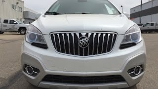 Used 2014 Buick Encore CXL For Sale / AWD, White / 17n133a