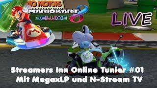 Mario Kart 8 Deluxe mit Megax LP und N-Stream TV - Streamers Inn #01 [Live]
