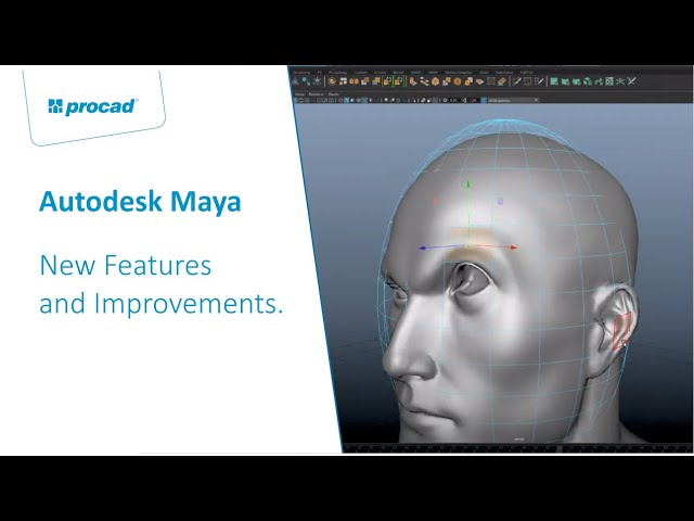 Autodesk Maya 2020 – New Features and Improvements