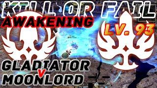 Dragon Nest PvP : Gladiator (Lollipop) v MoonLord Awakening KOF Lv. 93 KDN Spec Mode.