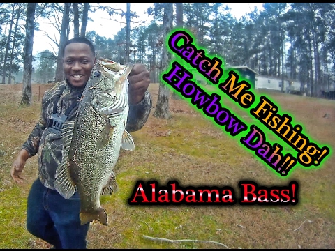ALABAMA BASS!! Crenshaw County Lake- Luverne, Al