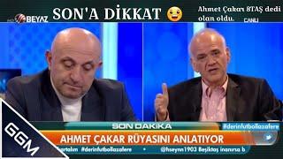 Ahmet Çakar- Beşiktaş'a 8taş diyor - Sinan Engin Deliriyor * sona dikkat *
