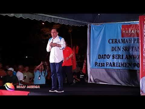D.S Anwar Ibrahim berceramah di Sri Tanjung, Port Dickson