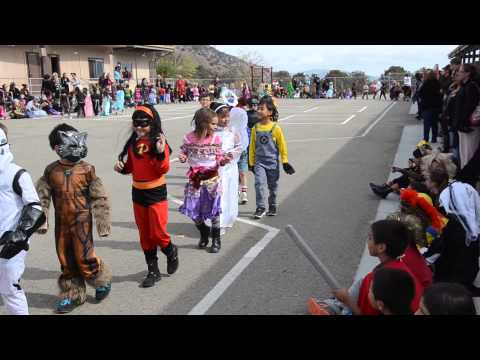 2014 Halloween Parade at the Frazier Park Elementary School