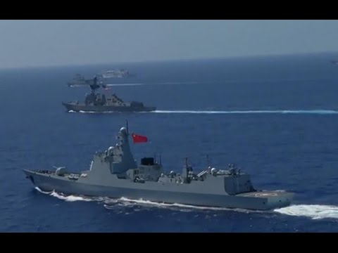 China Navy   US Navy  joint military exercise 2016