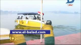 شاهد.. أول تجربة لتشغيل «التاكسي النهري» في القاهرة