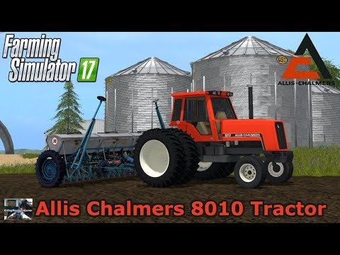 Farming Simulator 2017 / ALLIS CHALMERS 8010 TRACTOR / Mod Review