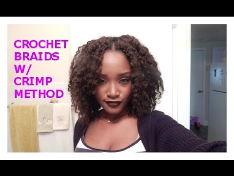 Crochet Hair Method : CROCHET BRAIDS CRIMP METHOD with NOIR MARLEY HAIR KEMIIXO ...