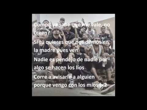 Download VENGO CON LOS MIOS - SANTA GRIFA , ZIMPLE, PP KACHORRO (LETRA)