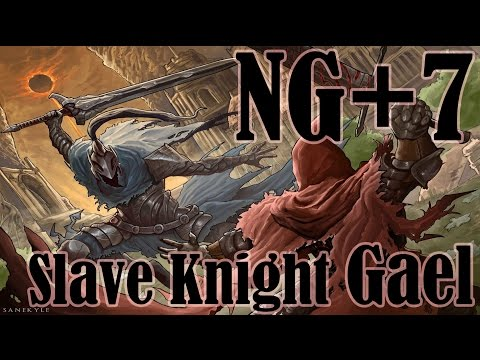 Dark Souls 3 - Slave Knight Gael vs Artorias - NO DAMAGE (NG+7)