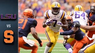 Syracuse vs. LSU | 2015 ACC Football Highlights