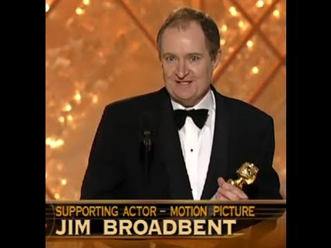 Jim Broadbent Wins Best Supporting Actor Motion Picture  Golden Globes 2002