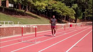 Hurdle Training - Raise The Bar, Technique and Rhythm Work