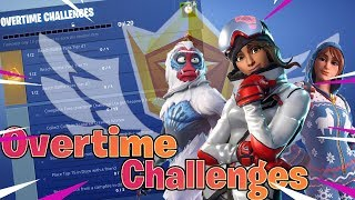 Overtime Challenges In Fortnite Battle Royale (Free Battle Pass)