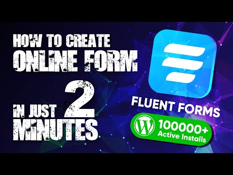 How to Create a Contact Form in WordPress | Fluent Forms