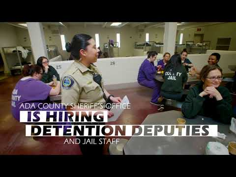 Consider a career at the Ada County Jail