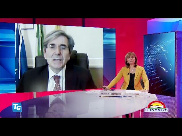 TELEVOMERO NOTIZIE IN COLLEGAMENTO CON RAFFAELE DEL GIUDICE – ASSESSORE ALL'AMBIENTE COMUNE DI NAPOL