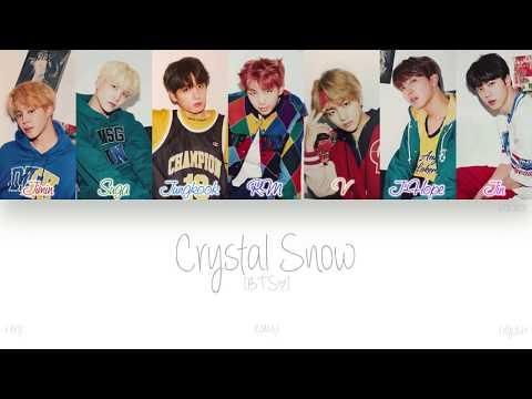 [KAN|ROM|ENG] BTS (방탄소년단) - Crystal Snow (Color Coded Lyrics)