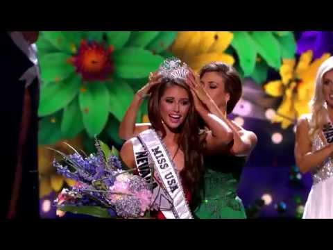 Miss Nevada USA Nia Sanchez crowned Miss USA 2014
