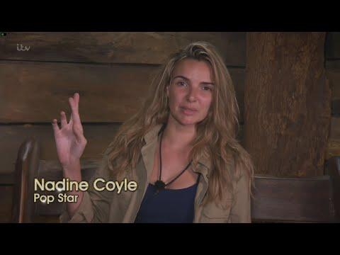 Nadine Coyle Leading Jungle Aloud In IMACELEB Performing The Promise