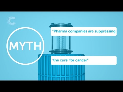 "Cancer myth 7: ""…And Big Pharma are suppressing it"""