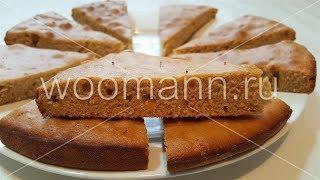 Быстрый пирог с апельсином