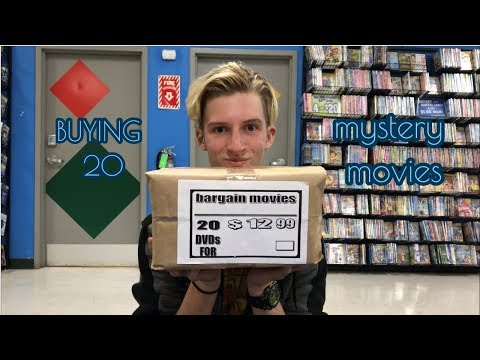 BUYING 20 MYSTERY MOVIES