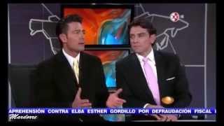Fernando Colunga y Jorge Salinas  están felices de trabajar juntos