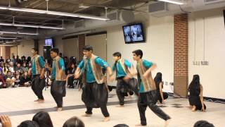 Modern Indian Dance (GSMST International Night 2015)
