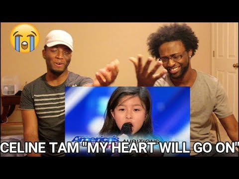 """9-Year-Old Celine Tam Stuns Crowd with """"My Heart Will Go On"""" - AGT 2017 (REACTION)"""
