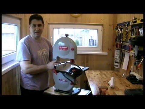 Стол-трансформер для лентопильного станка ЗУБР 350 (folding table for the tape sawing...