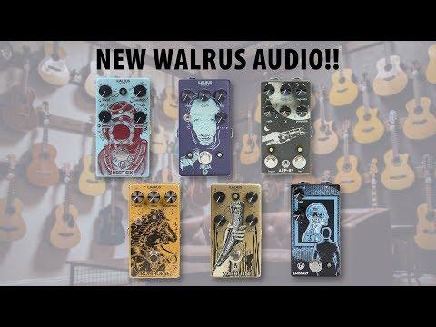 Walrus Audio Rundown: Deep Six, Julia, Warhorn, Iron Horse, Arp-87 And Emissary