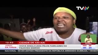 VIÚVA DESALOJADA PELOS FAMILIARES DO FALECIDO MARIDO