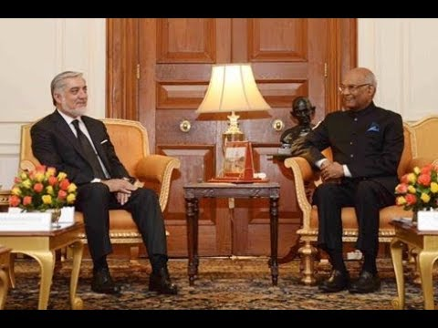 Dr. Abdullah Abdullah, Chief Executive  Of Afghanistan Calls On The President Kovind