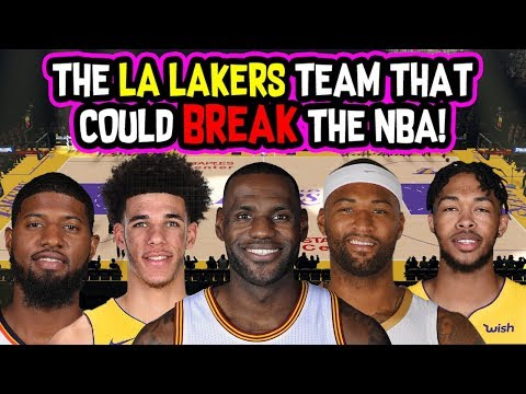The Los Angeles Lakers Team that could BREAK The NBA!